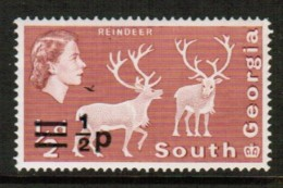 SOUTH GEORGIA  Scott # 17* VF MINT LH - Great Britain (former Colonies & Protectorates)