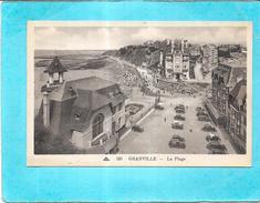 GRANVILLE - 50 - La Plage Et Le Parking - ENCH1612 - - Granville