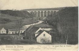 Environs De CHIMAY : Le Grand Pont De VIRELLES - Cachet De La Poste 1907 - Chimay