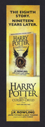 Marque Page.   HARRY POTTER And The Cursed Child.   Bookmark. - Bookmarks