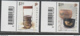 SINGAPORE, 2016, MNH, JOINT ISSUE WITH JAPAN, 2v - Emissions Communes
