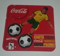 Coca Cola From Romania - Finger Football - Posavasos (Portavasos)