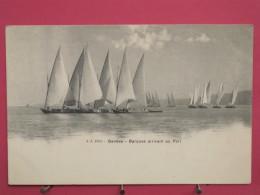 Suisse - Genève - Barques Arrivant Au Port -  Précurseur - Scans Recto-verso - GE Ginevra