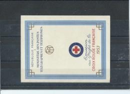 FRANCE 1953 - YT N° C2002 NEUF SANS CHARNIERE ** (MNH) GOMME D'ORIGINE LUXE - Cruz Roja