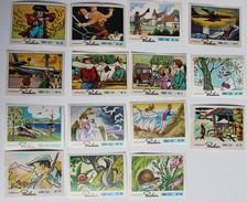 Lot 23 Images Chocolat POULAIN Série 151 à 187 Orly Catcheurs 3 Bandits De Napoli - Poulain