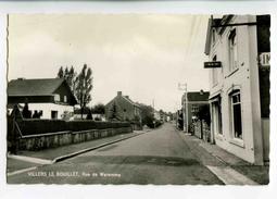 C 19035  -  Villers  Le Bouillet  -  Rue De Waremme  -  Photo Véritable - Villers-le-Bouillet