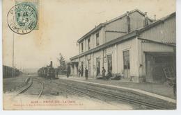 PROVINS - La Gare ( Animation Avec Train ) - Provins