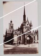PARIS EGLISE SYT LAURENT ET INVALIDES  SUPERBE DE FINESSE   TIRAGE UNIQUE DE 1890 ARGENTIQUE  FORMA 19,5 X 12 CM - Photos