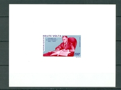 Upper Volta Burkina Faso C79 President Roosevelt FDR With Stamp Collection DELUXE PROOF MNH 1970 A04s - Upper Volta (1958-1984)