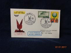 VOLO SPECIALE MILANO SAMEDAN VOLO POSTALE 1979  BUSTA / CARTOLINA - Materiale Promozionale