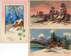 JDA Joyeux Noël X 3 Paillettes - Non Classificati