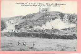 Environs De La Haye Du Puits - Lithraire Montcastre - Ruines Du Camp De Jules César - France
