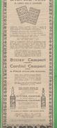 Bitter Campari In Fiale Pubblicità 1924 - Health & Beauty