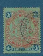 Compagnie Britanique De L'afrique Du Sud     - Yvert N°  39 Oblitéré     Cw 17234 - Other