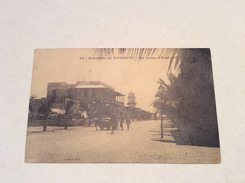 Souvenir De DJIBOUTI- La Route D'Amboali - Cartolina FP V 192? - Gibuti