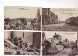 726  A  4 CPA Gerbeviller La Martyre Guerre 14.18 - Gerbeviller