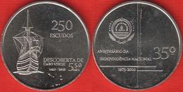 "Cape Verde 250 Escudos 2010 Km#51 ""Independence - Discovery"" UNC - Cap Vert"