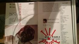 Pieghevole Della Cantante Till Price - Canzone: Hava Magila - 1965 - 1966 - Musica & Strumenti