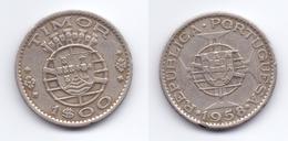 Timor 1 Escudo 1958 - Timor