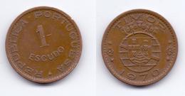 Timor 1 Escudo 1970 - Timor