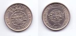 Timor 2 1/2 Escudos 1970 - Timor