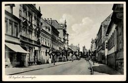 ALTE POSTKARTE ST. INGBERT KAISERSTRASSE Postcard Cpa AK Ansichtskarte - Saarpfalz-Kreis