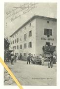 AK Cadine - Trento - Albergo Alla Posta - Gelaufen 1910 - Italie