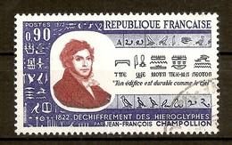 1972 - N°1734 Champollion - France