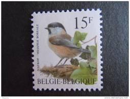 België Belgique Belgium 1997 Vogels Oiseaux Buzin Matkop Mesange Boreale 2695 MNH ** - 1985-.. Vögel (Buzin)