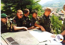 """NATO-Einsatz Bundeswehr Im Kosovo Feldpost 5. Deutsches Heereskontingent SFOR (L), 2000 """"Einweisung  ..."""", Ungebraucht - Militari"""