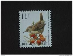België Belgique Belgium 1992 Vogels Oiseaux Buzin Winterkoninkje Troglodyte Mignon 2449 Yv 2449 MNH ** - 1985-.. Oiseaux (Buzin)