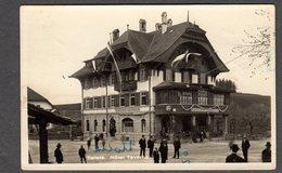 1943 TAFERS HOTEL TAVERNA FP V SEE 2 SCANS ANIMATA - FR Fribourg