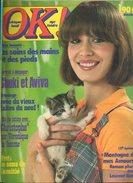 Journal OK !!! Foot St Etienne 2p; Shake; Sylvie Vartan 2p; Sheila Grand-mère; Christophe 2p; Shuki Et Aviva Photo - Música