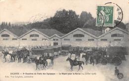 DIJON - 8e Escadron Du Train Des Equipages - Le Départ Pour La Revue - Dijon
