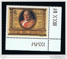 2011 - VATICAN - VATICANO - VATIKAN - D17I - MNH SET OF 1 STAMP ** - Ongebruikt