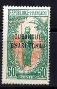 Oubangui   : N° 13  Neuf X MH , Cote : 7,50 € - Ongebruikt