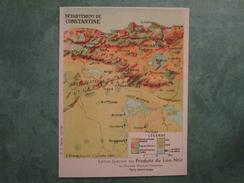 Edition Spéciale  Des Produits Du LION NOIR  Département De CONSTANTINE - Trade Cards