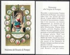 Madonna Del Rosario Di Pompei - Santini