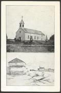 Slovenia-----Stolnica In Palaca Skofa Barage V Saultu------old Postcard - Slovenia