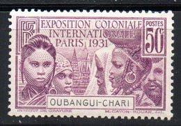 Oubangui   : N° 85  Neuf X MH , Cote : 7,50 € - Ongebruikt