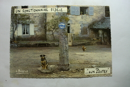 Humour - Un Fonctionnaire Fidèle -...aux Postes - Téléphone Public - Louis Buffier - Humour