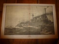 1914 La GUERRE NAVALE ,La 1ere Division Légère Poursuivant Les Divisions Autrichiennes (dessins Albert Sébille) - Barche