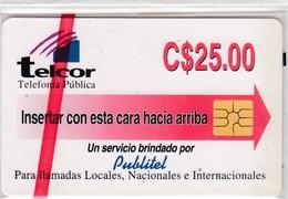 Nicaragua Telcor 25 #4 - Nicaragua