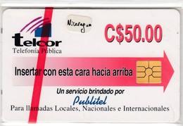 Nicaragua Telcor 50 #5 - Nicaragua