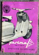 VINTAGE  CATALOGUE VESPA   MOTORCYCLE    MOTORRADER   SCOOTER  NSU  PRETIS   1960. - Motorräder