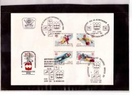 214      -      14.11.1975   /   FDC   XII WINTER-OLYMPIADE 1976  -  FDC MICHEL NR. 1499/1502