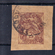 FRANCE 1900. 2 CENTIMES TIPE BLANC  NON DENTELE. OBLITERÉ  .  FR79 - France