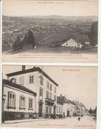 Saint-Dié - Vue Générale Faubourg Saint-Martin + Rue De L'Orient Et école Communale - Saint Die