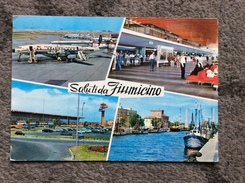 AERODROME    ITALIA   FIUMICINO   1971. - Aerodrome