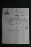 Facture Ancienne - BORDEAUX - Importation Et Exportation André RUMEAU - France
